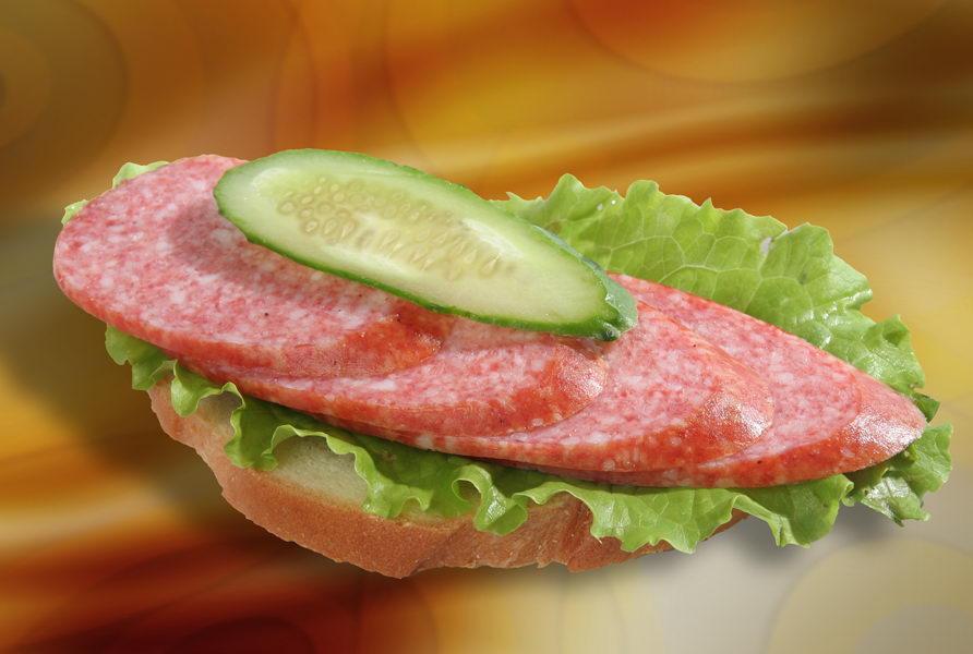 Прикольные картинки бутербродов с колбасой