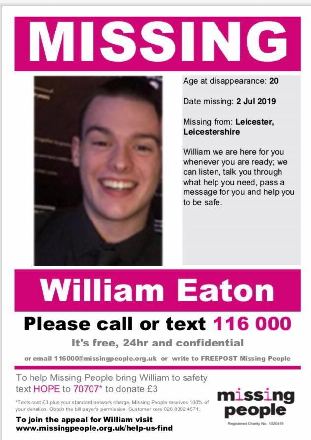 Please can you help us to find our friends son who is missing last thought to be in London @LCFC #LCFC . Please RT, much love x #MISSINGPERSON