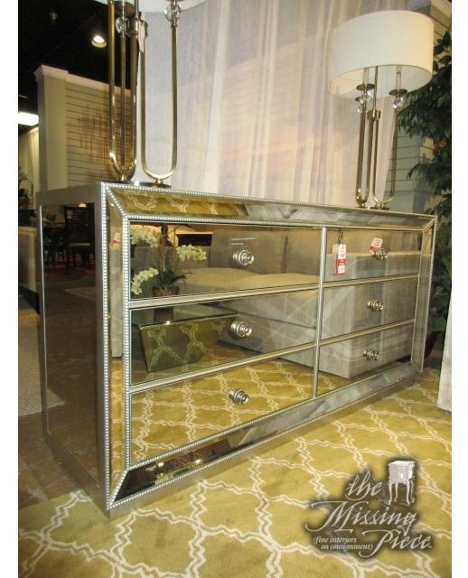 Zgallerie Omni Mirrored Dresser With
