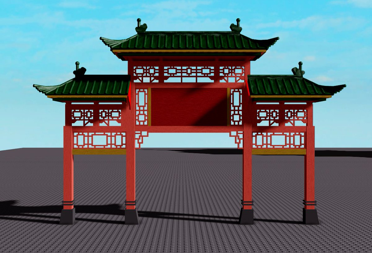 Corrivalrhyme Design On Twitter Learned Chinese Paifang Architecture I Little Bit And Wow It Is Quite Fun To Build These Sort Of Structures The Complexity The Form The Design Its All So