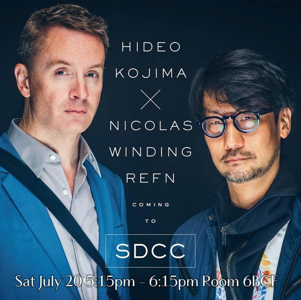Dear Friends! Looking forward to seeing everyone and hanging with @HIDEO_KOJIMA_EN #SDCC #byNWR ❤️ https://t.co/PpwMtaeKTn