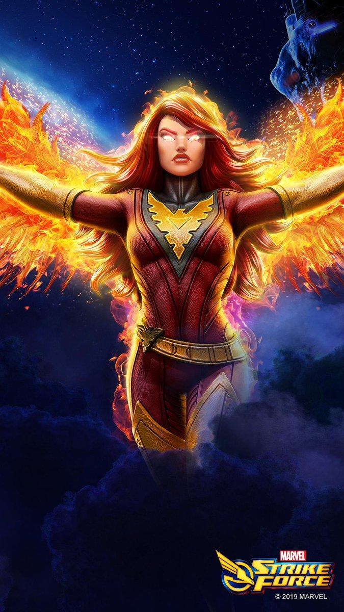 Marvel Strike Force On Twitter Dark Phoenix Mobile