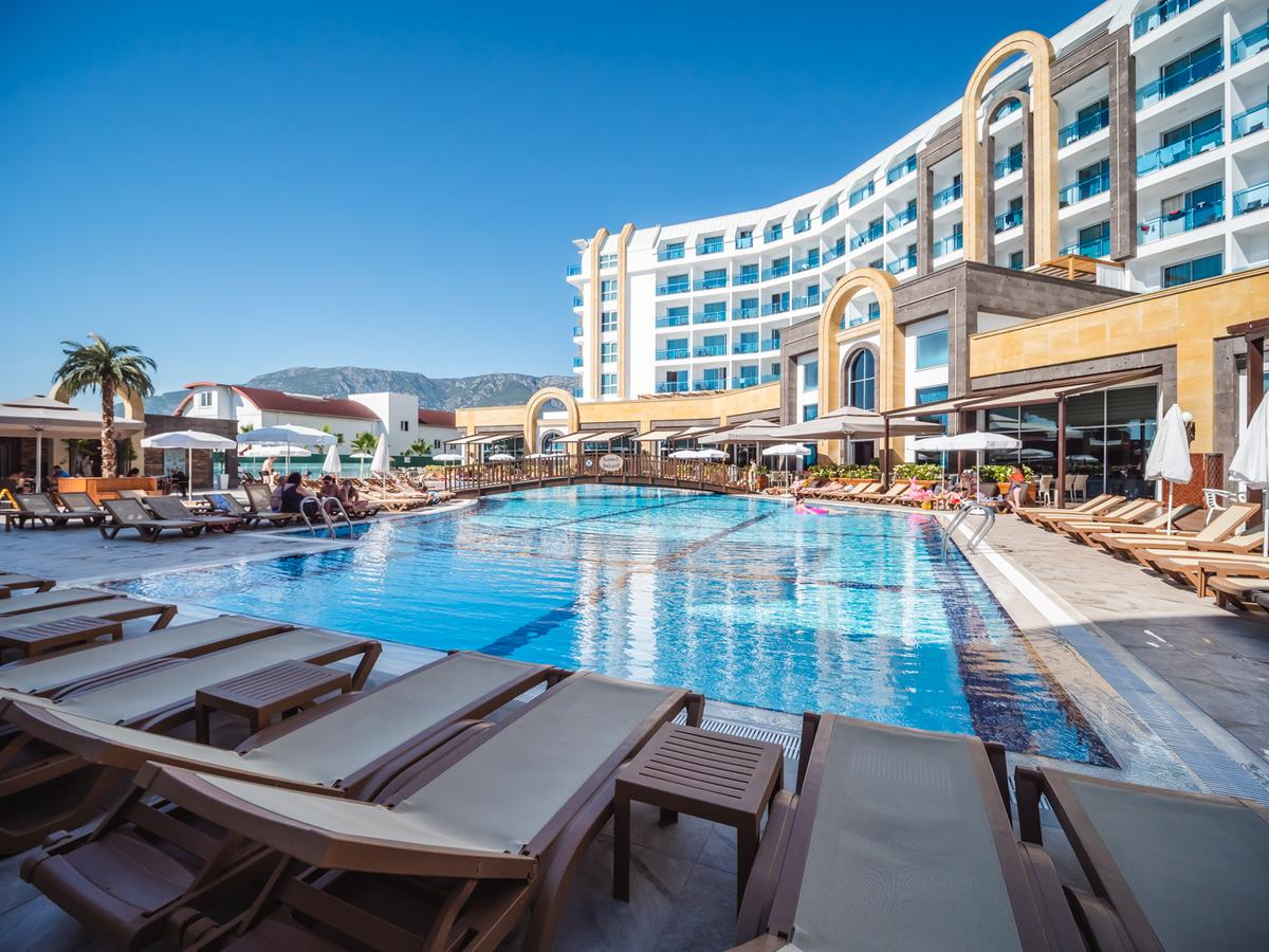 пяти звездочный отель картинки в турции всё тоже самое