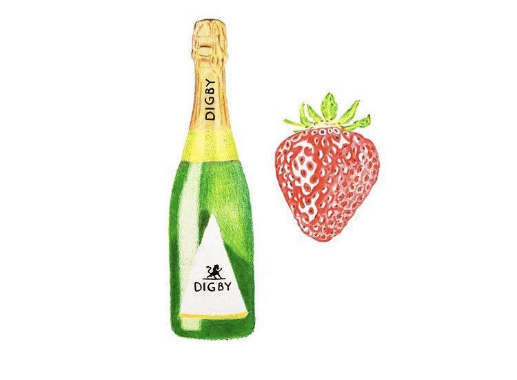 Join us for our next monthly food and wine pairing.. strawberries and English Sparkling. What could be more appropriate for July? All day, Wednesday 17th July in Bath and Tisbury  🍾🍓#englishwine @DigbyEnglish