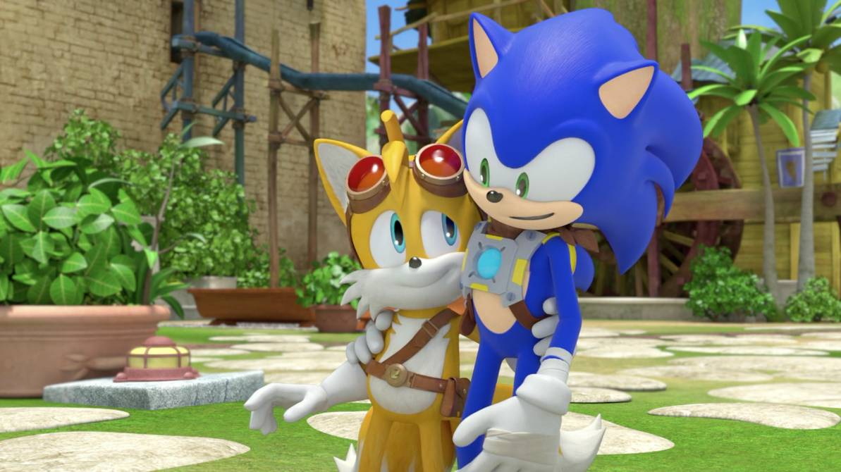sonic and tails is one of the best video game duos of all time and that is a fact