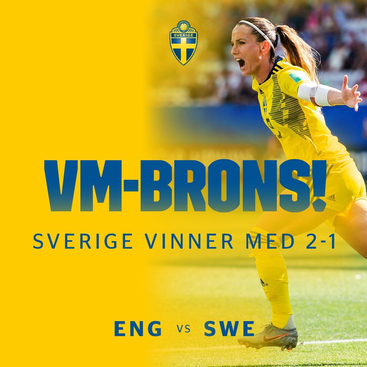 VM-BRONS!!!! 🇸🇪🇸🇪 Tillsammans har vi skapat historia! 🇸🇪🇸🇪 #viärsverige