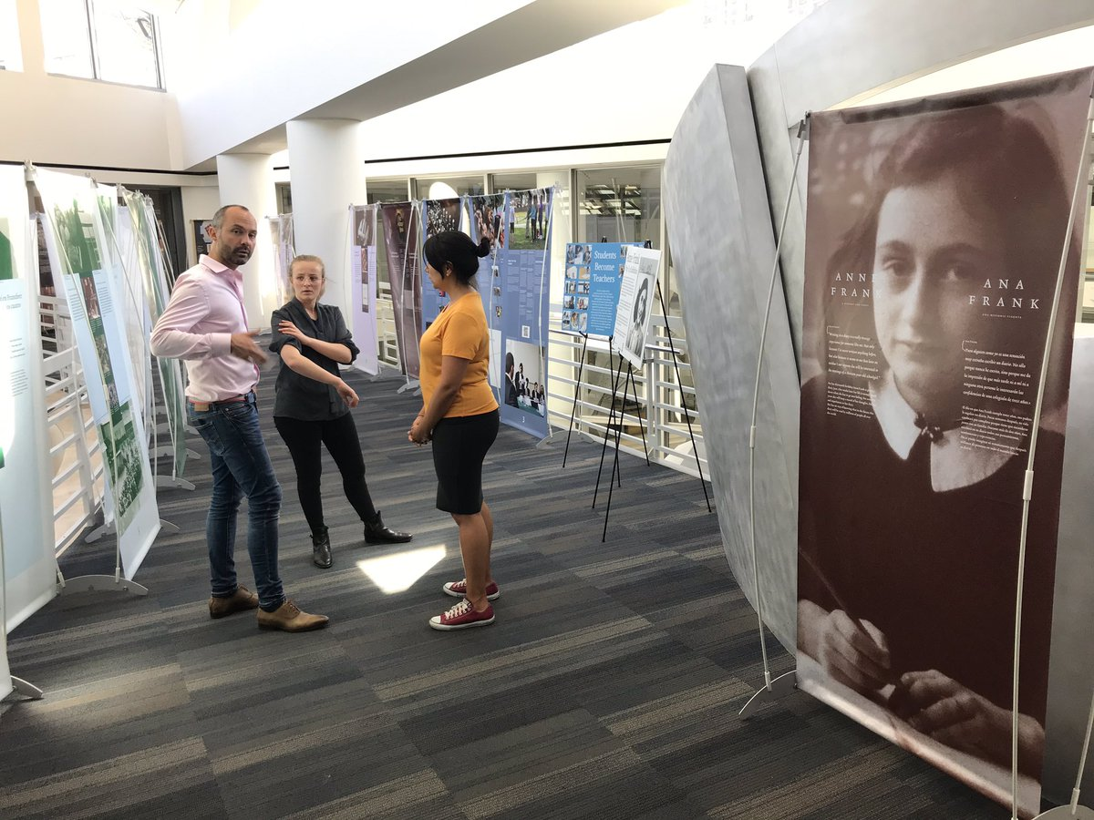 "Come see the #Anne Frank Exhibition at @SFPublicLibrary this summer. The Netherlands keeps the story and lessons of #AnneFrank alive through the travelling exhibition ""A History for Today"". @AnneFrankHouse @DutchCultureUSA sfpl.org/index.php?pg=1…"