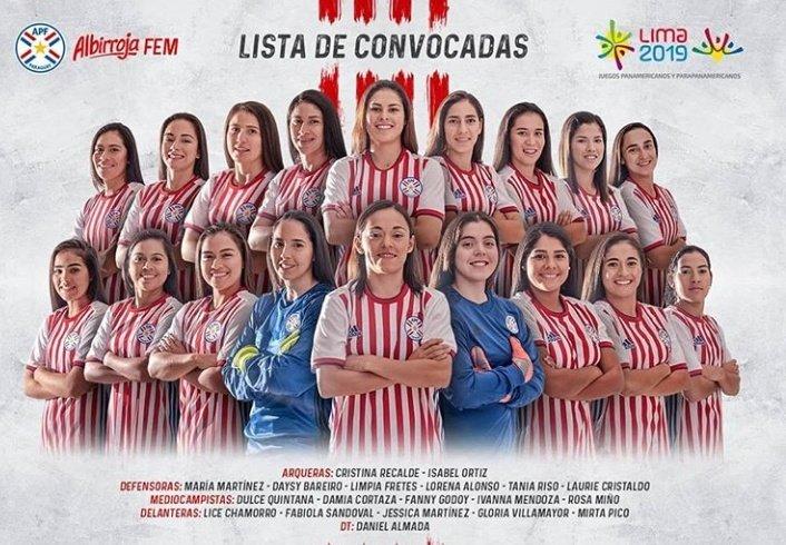 Ellas son las elegidas para representar a Paraguay en fútbol femenino durante los juegos olímpicos de Lima 2019.  #VamosParaguay  #JugamosTodos  #SomosCentroAlArea