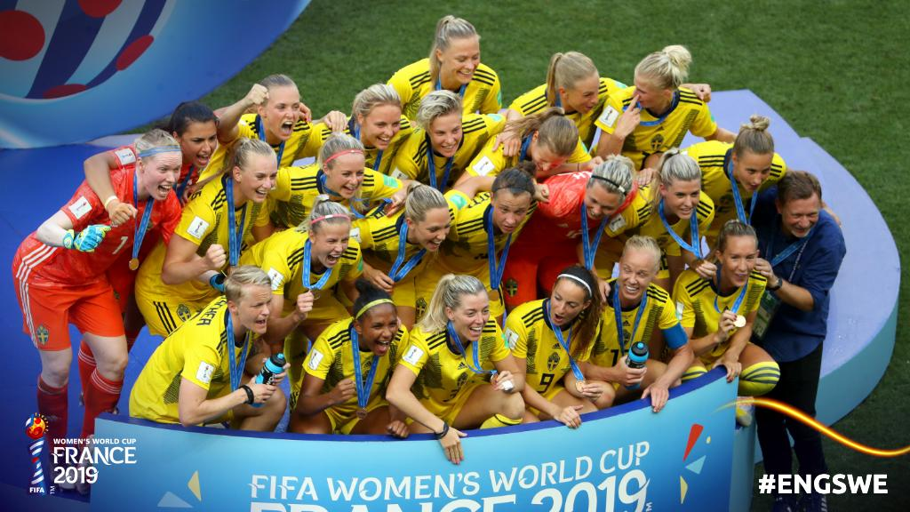 Sweden takes World Cup bronze after strong start against England