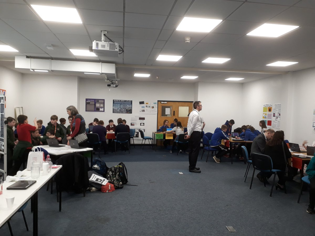 Congratulations to everyone who took part in today's Game of Codes #GoC19.  Many thanks to @AlacrityUK @Software__Guy @AdmiralUK @HodgeBank @RedHat for supporting the event. @Technocamps @IoCoding @ComSciSTEMCU @CompScienceCU