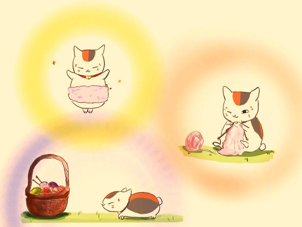 お絵描き イラスト 夏目友人帳 にゃんこ先生 にゃんこ先生の日常