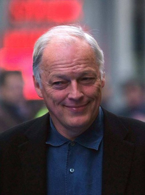 Happy birthday to David Gilmour who turns 73 today!