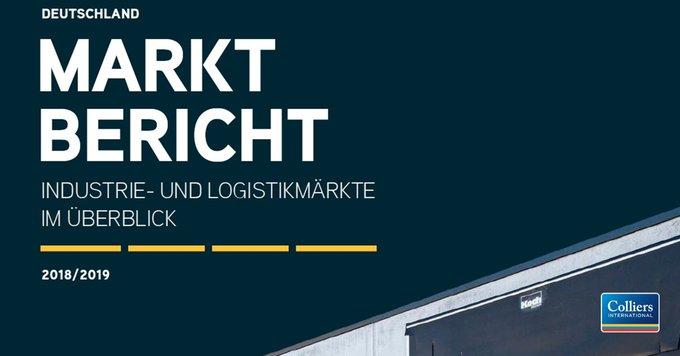 Industrie- und Logistikmärkte: der Run geht weiter!<br><br>Einen ausführlichen Überblick über die wichtigsten Kennzahlen der TOP-Logistikregionen in Deutschland bietet unser #Marktbericht 2018/2019. Hier entlang:  t.co/LfU3M1Vd8C