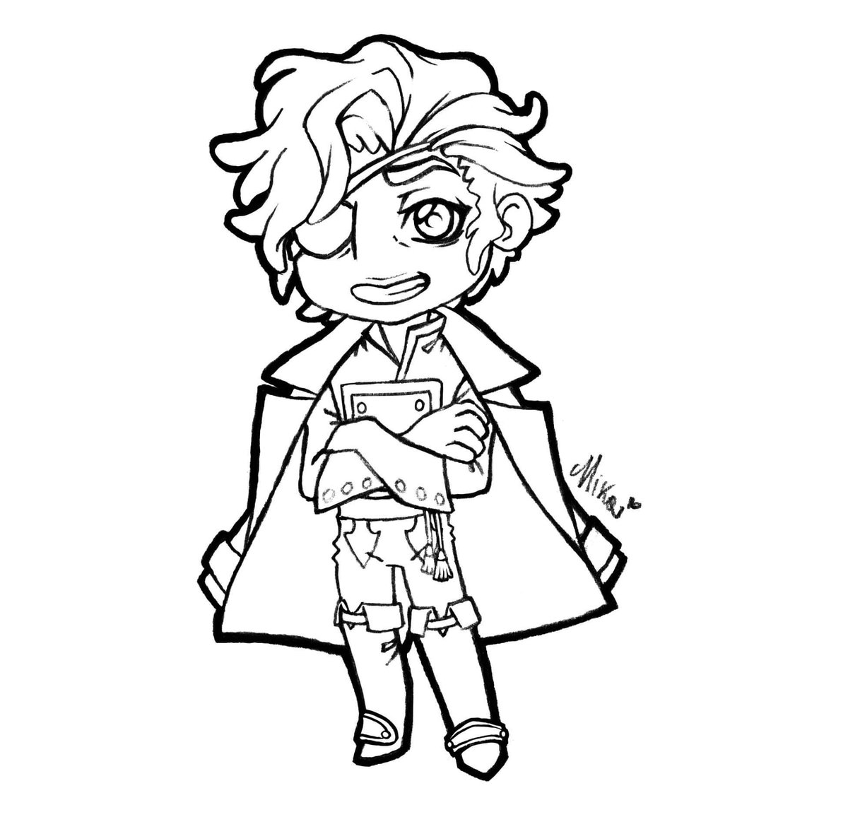 So, here's finally the complete lineart of my  chibi Julian Devorak fanart! So precious, my slippery boy#art  #artist #artsy #illustration  #draw #drawings #lineart #chibi #julian #juliandevorak #jules #julesdevorak #thearcanagame #thearcanailya #thearcanajulian #ilyadevorakpic.twitter.com/vRRu2UoJMO