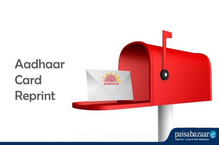 Lost Your Aadhaar? Here's How to Get it Reprinted! @PaisaBazaar_in @UIDAI   Read to know more -  https://www. paisabazaar.com/aadhar-card/ho w-to-reprint-your-lost-aadhaar-card/  …  #Aadhaar #aadhaartipoftheweek #personalfinance #paisabazaar<br>http://pic.twitter.com/rJHYFd3O55