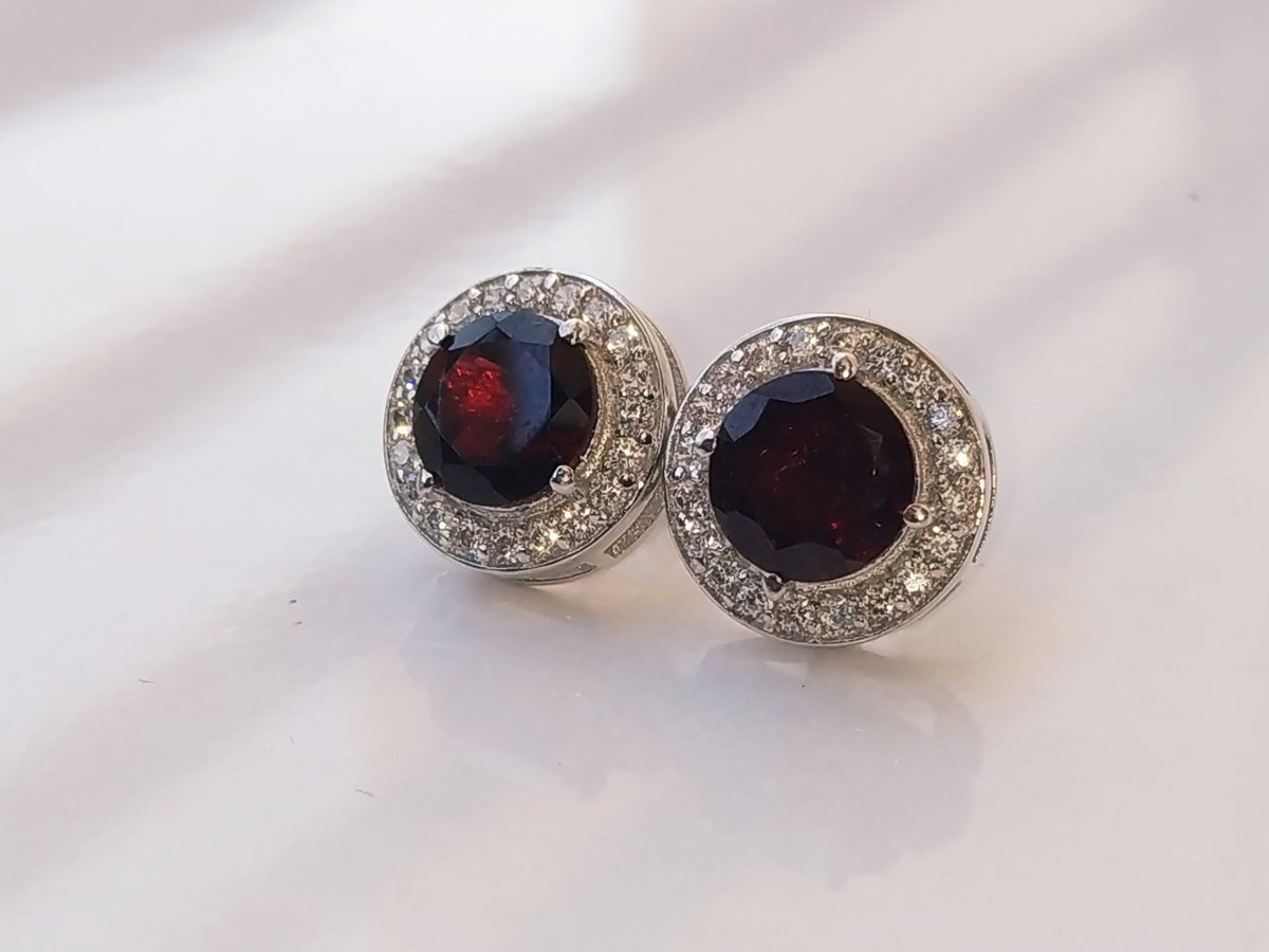 4cc5770930c Excited to share the latest addition to my  etsy shop  Red garnet earring