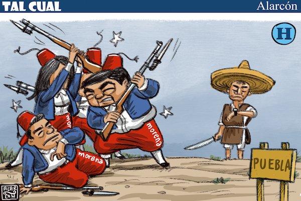 La batalla de Puebla - Alarcón