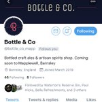 Image for the Tweet beginning: Welcome to Mapplewell @bottle_co_mapp  All