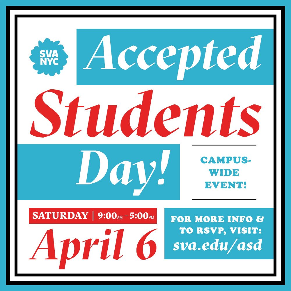 5104e5adb55d10 Accepted undergraduate students are invited to join us for Accepted  Students Day NYC on Saturday,