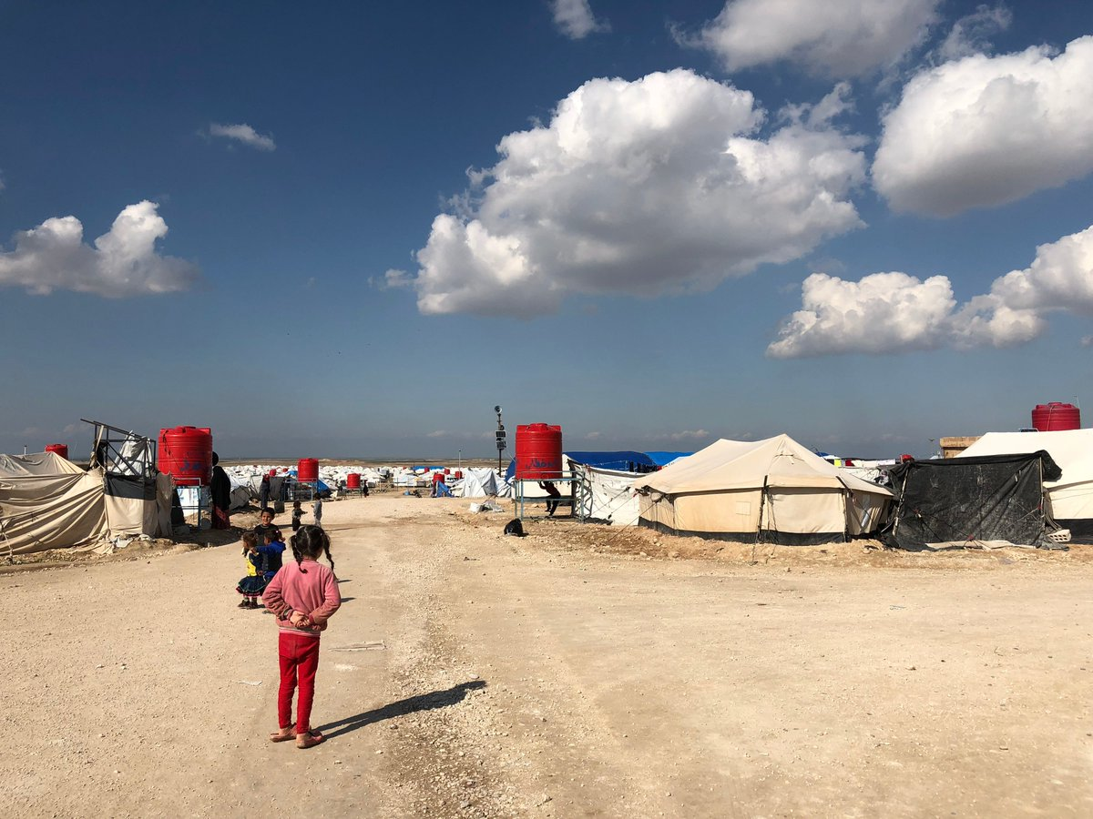 Thousands Of City Children Not Getting >> Icrc On Twitter This Camp In North East Syria Is The Size Of A