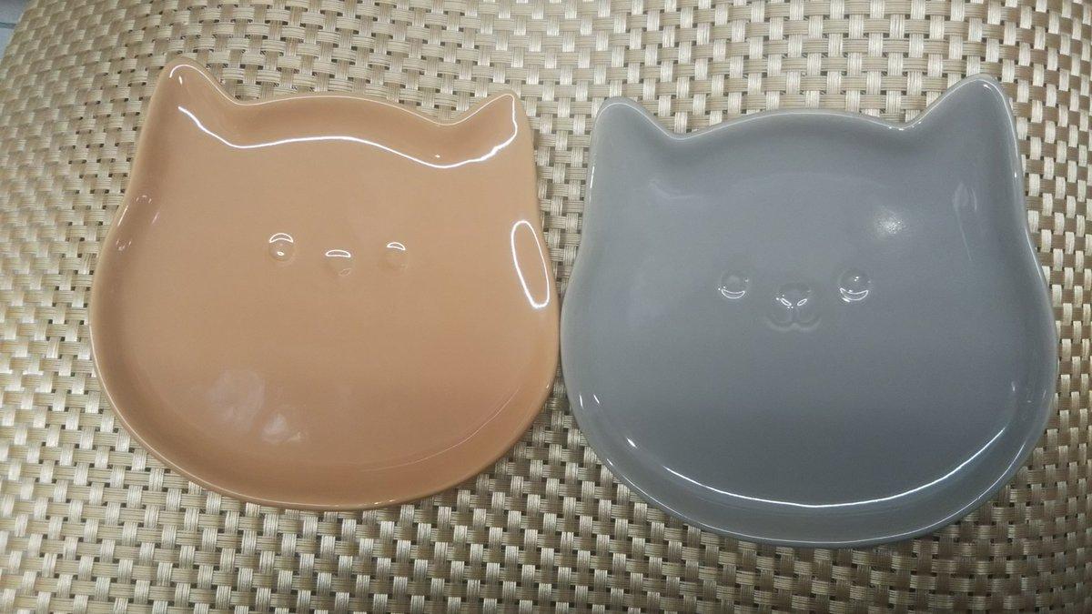 test ツイッターメディア - 100均にあったニャン❣️ 猫型のお皿~✨ #ダイソー    #猫型のお皿 https://t.co/liJUncXg4m