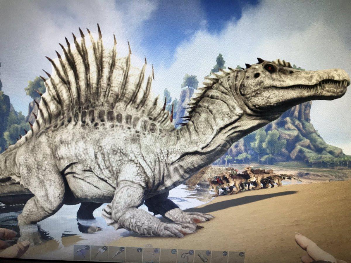 スピノサウルス サドル