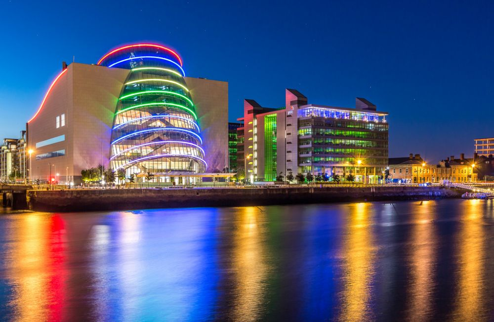 Rest in Peace, Kevin Roche: one of Ireland's brilliant architects. Working out of the US, he created world-class designs for museums and airports throughout a long career. One of his last creations was the Convention Centre in Dublin.  #architecture #design #creativity #ireland