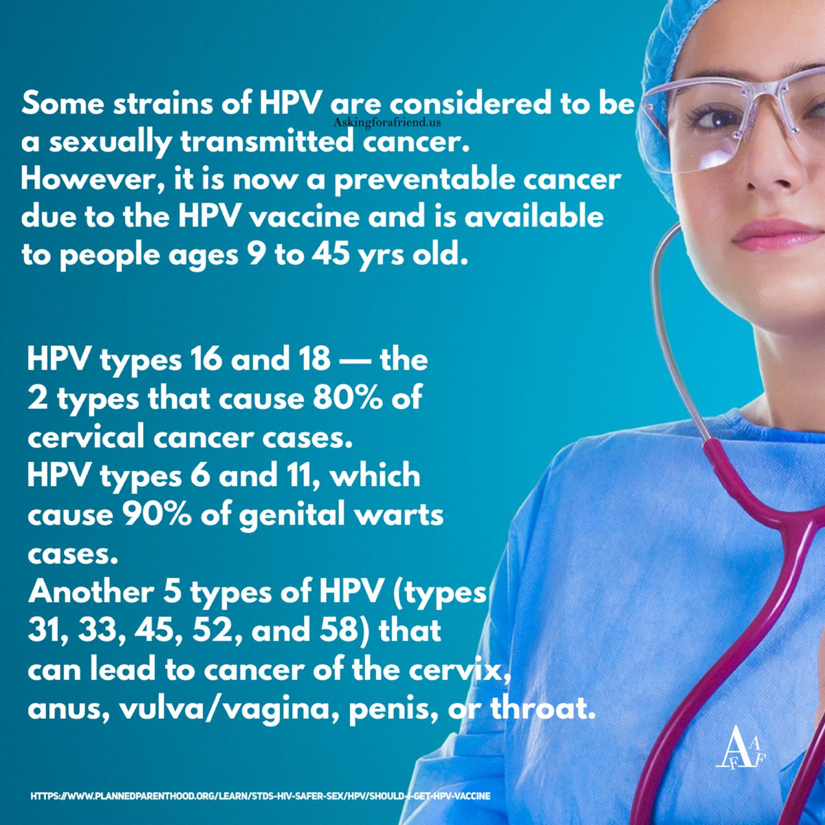 hpv18 hashtag on Twitter