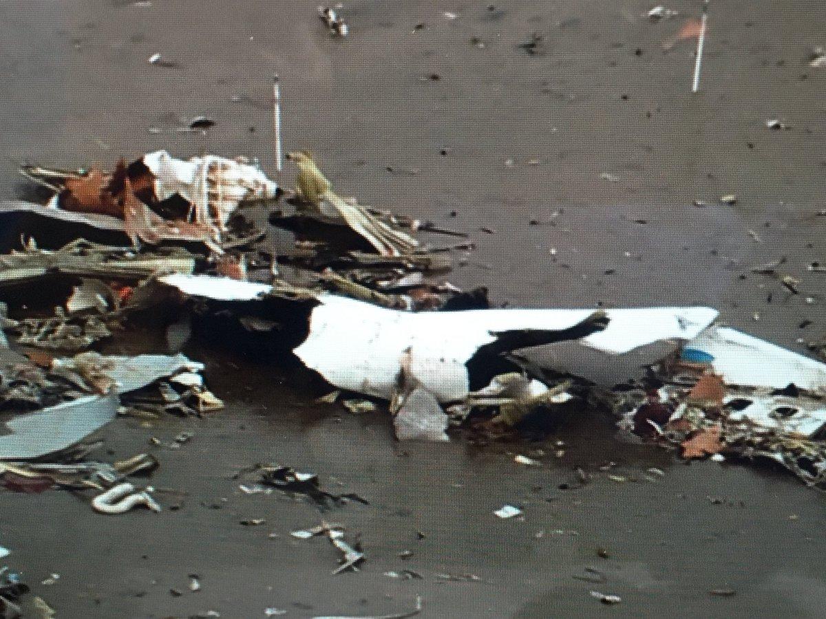 north wind mph Monday morning reveals Atlas Air crash scene