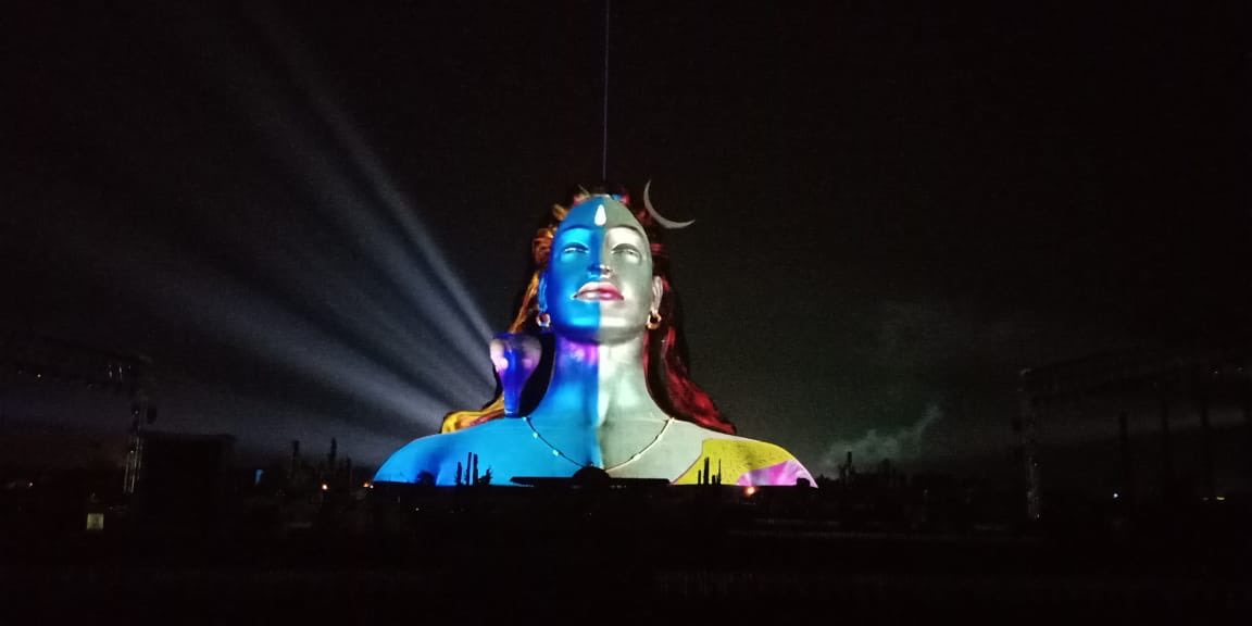 Sab mein hai Shiva, Jagaane waala chahiye! Shiva Shiva #YogiShiva #USnoozeULose