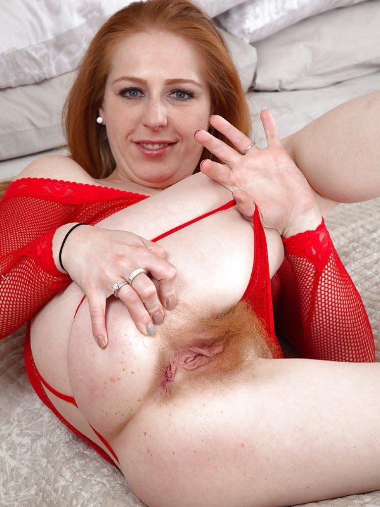 Nude mature redhead