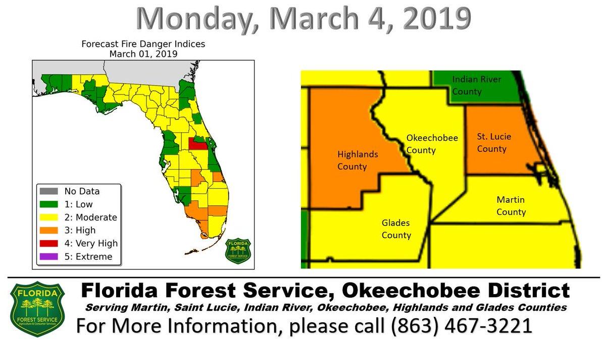 Florida Forest Fire Map.Ffs Okeechobee Ffs Okeechobee Twitter