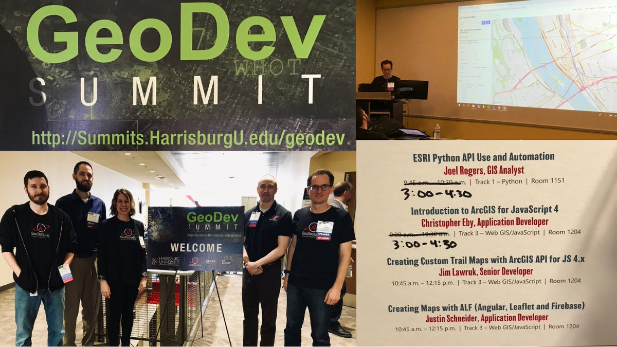 GeoDev2019 hashtag on Twitter
