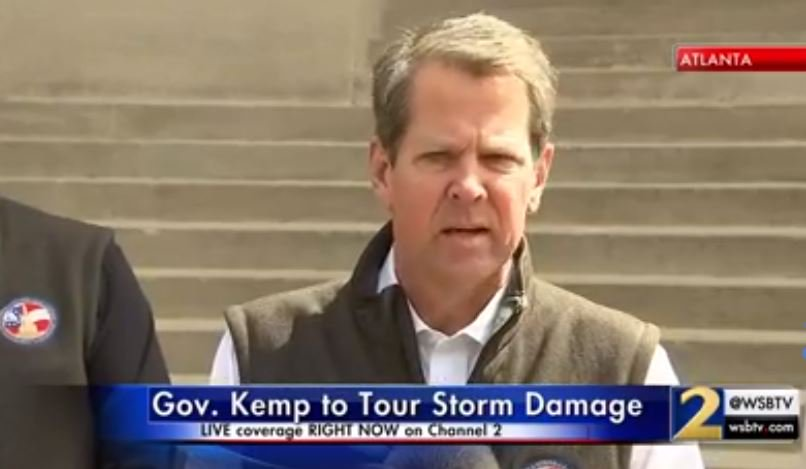 Watch live: gov  brian kemp is speaking at the capitol