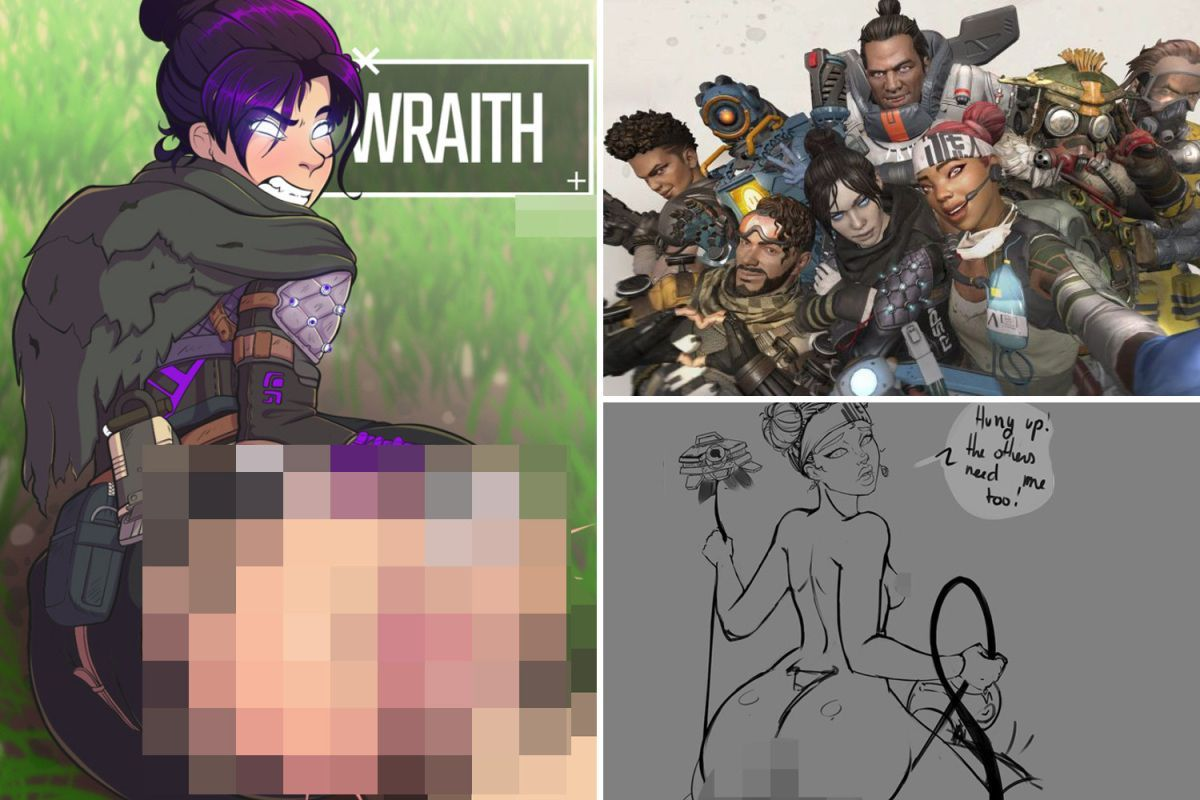 "Adult Cartoon Porn Pictures uživatel plexstorm na twitteru: ""apex legends gets #porn"