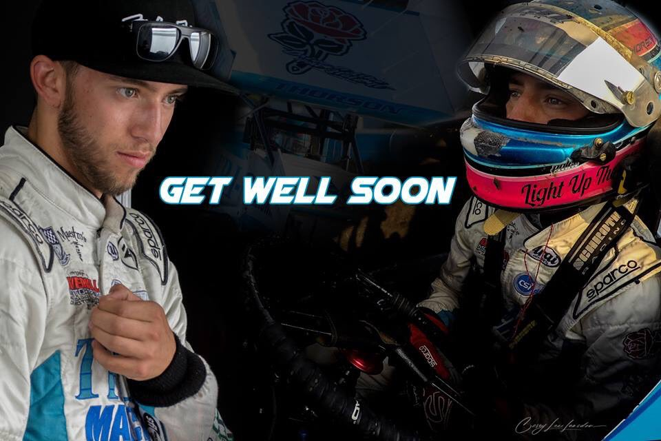 praying for @Tanner_Thorson to have a speedy recovery!