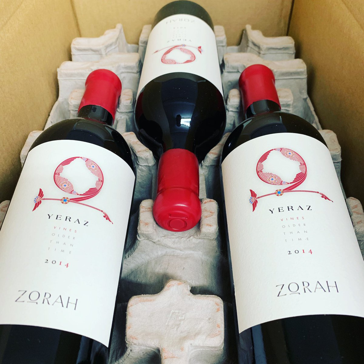Get your 2014 Zorah Yeraz Wines before it's too late. These are going to someone else.  http://WinesofArmenia.com .  #zorah #yeraz #zorahyeraz #winesofarmenia #armenianwine #areni #oldvines #oldvine #reservewine #reserve #redwine #veryrare #allocated @StepanWBpic.twitter.com/xSyd2Phsd9