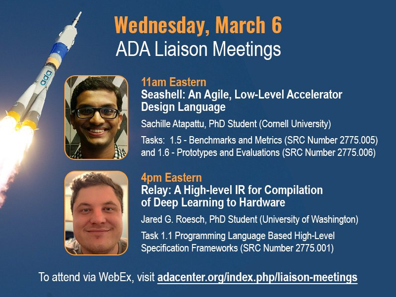 Hear Sachille Atapattu @Sachillea and Jared Roesch @roeschinc discuss their latest research.  All ADA sponsors and researchers invited. Visit http://adacenter.org    for complete details.