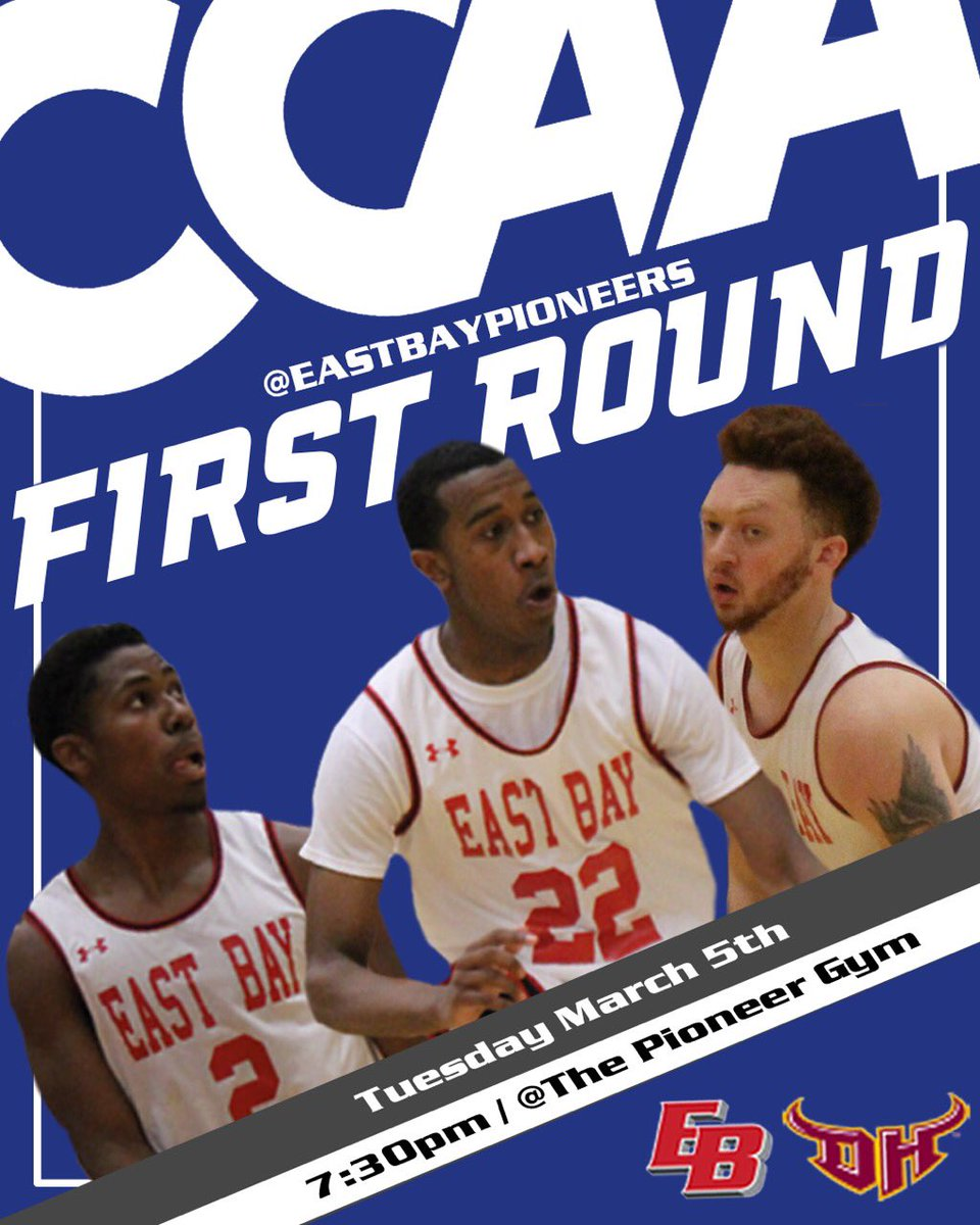 11e6c467ea51 Be there Tuesday night at Pioneer Gym as  CSUEBBasketball hosts its  first-ever  goccaa Tournament game vs.  TorosAthletics at 7 30  pm!pic.twitter.com  ...