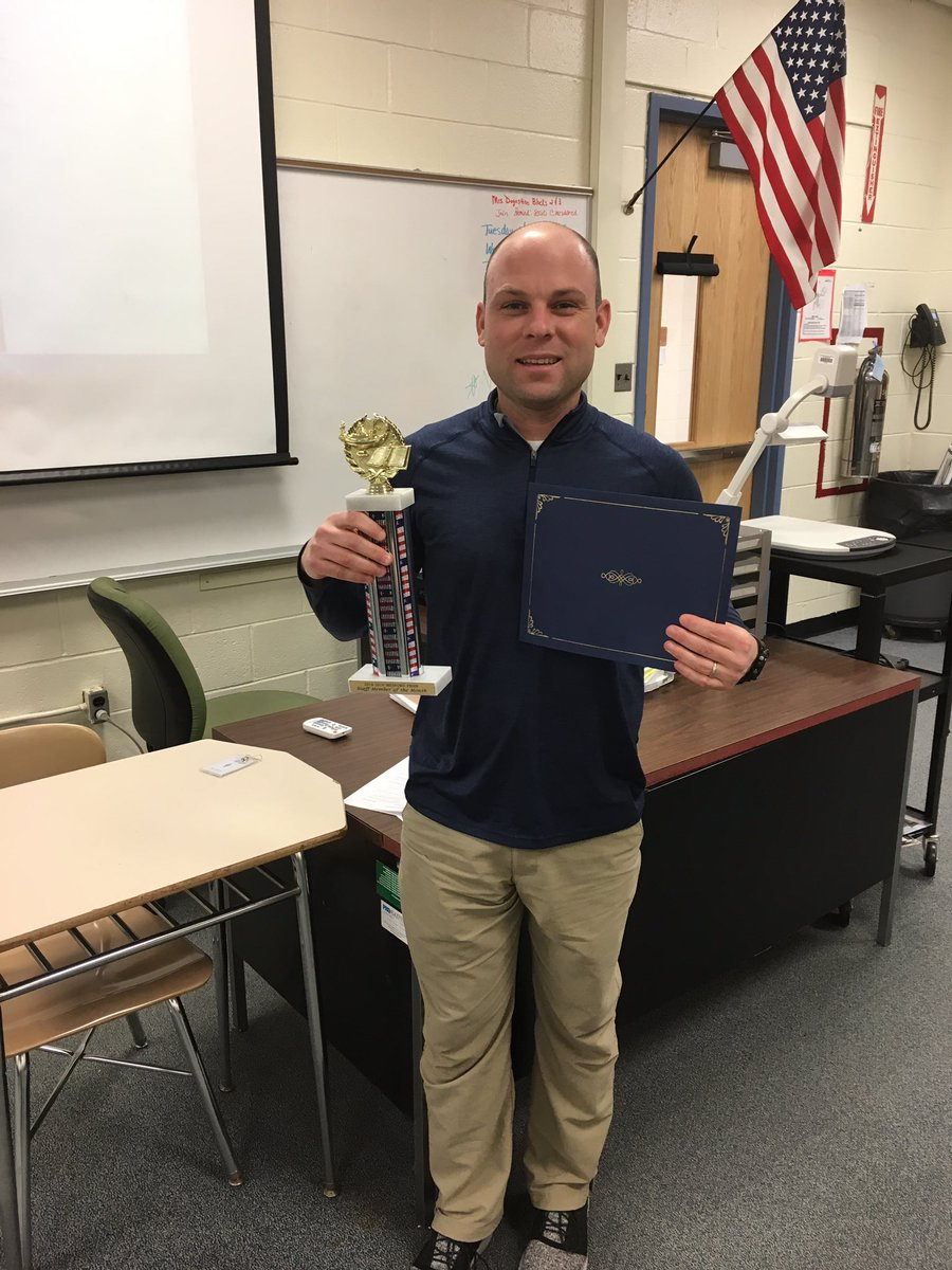 BCIT Medford Staff Member of the Month for February Mr. Gilmore. Congrats and way to rep the PE department @BCITMedfordCTE @BCITTWEETS