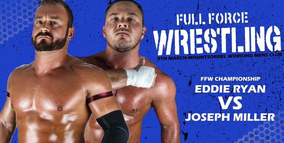 Znalezione obrazy dla zapytania Eddie Ryan Full Force Wrestling Championship