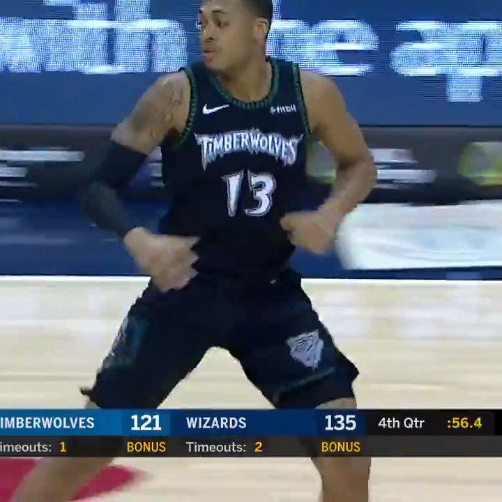 """""""His first career @NBA bucket, he'll never forget it!""""  #NBACallUp Cameron Reynolds (@CamoCinco) continued his #GLeagueJourney with this memorable moment last night! @AmericanExpress #BackedByAmex   @GreenWaveMBB ↗️ @StocktonKings ➡️ @Timberwolves"""
