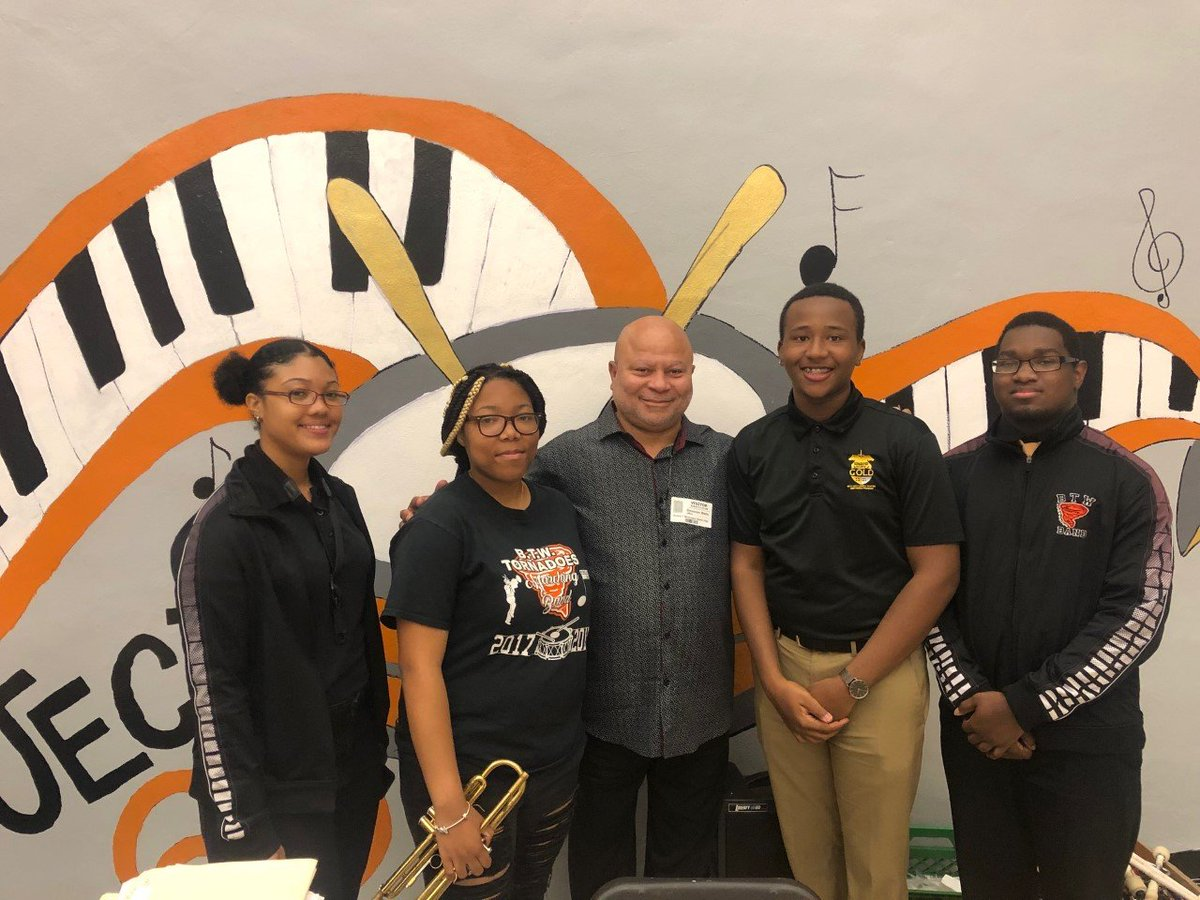 Congratulations to BTWSH Students Tyrese Williams, Vakaria Hampton, Thaddeus Phillip Luces and Charmise Kennedy on earning a band scholarship to attend Bethune Cookman University!!! #MusicExcellence  #FutureLeaders #BTW #NotTheBiggest #ButTheBest #LeadingTheCharge<br>http://pic.twitter.com/bDCErwHZCw