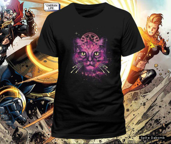 e7261f713288c http   spikedabomb.com t-shirts 3625-marvel-comics-captain-marvel-neon-goose-psychedelic-print-black-t-shirt.html  …