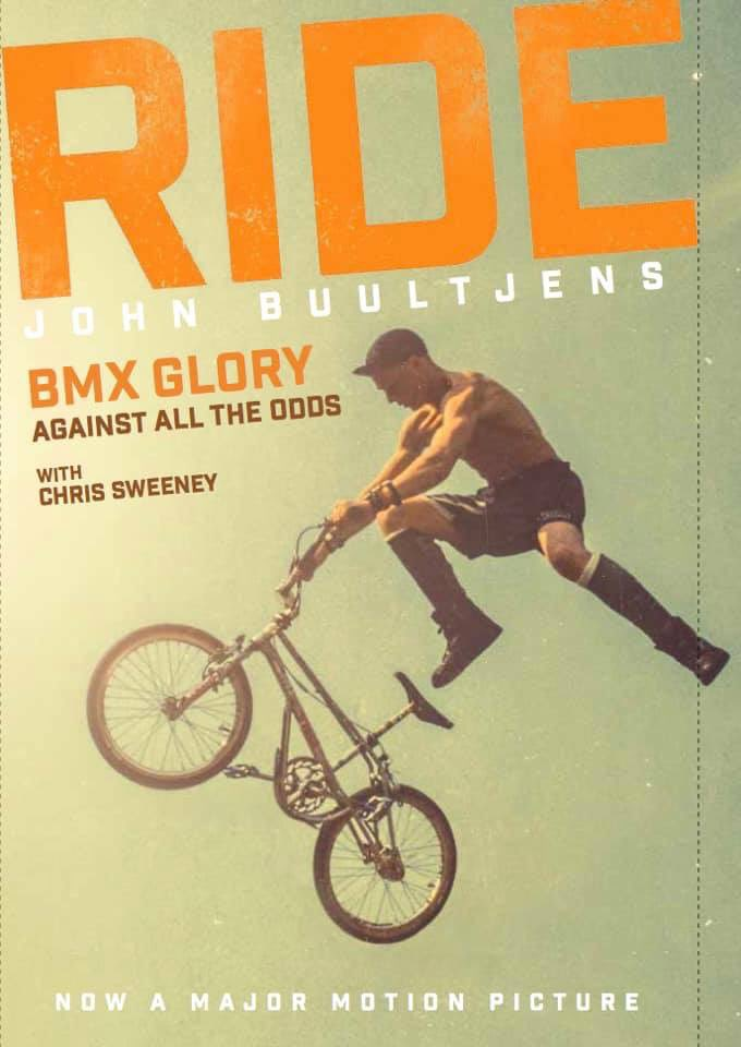 So excited to be flying home to Glasgow next week for my birthday and what better way to celebrate. I'll be talking about my book RIDE, BMX Glory, Against All Odds at @ayewriteglasgow in my birth town 47 years later to the day. Link below. Grab a ticket! https://bit.ly/2Mibg8z