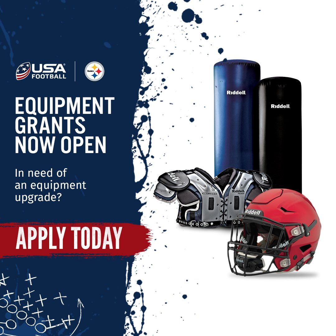 Apply by March 13th for the  usafootball equipment grant! Good luck!!  http   usafootball.com nflgrant pic.twitter.com TY7OVWSzYu 4fb7b7d6a