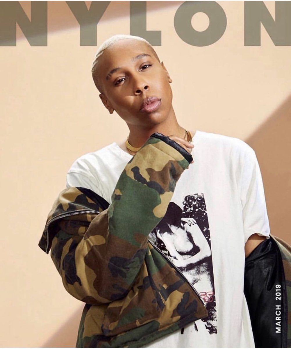 @NylonMag made my Monday by putting @LenaWaithe on the cover!!! I gotta run out and her 2 copies. 1 to add to my collection and the other to highlight Lena's words of wisdom. #shero #genius #mentorfromafar https://t.co/iMMemuWlQZ