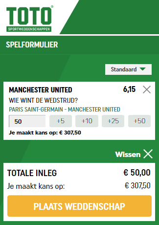 Verwonderlijk Paris St. Germain schudt de kaarten in CL met Manchester United VK-18