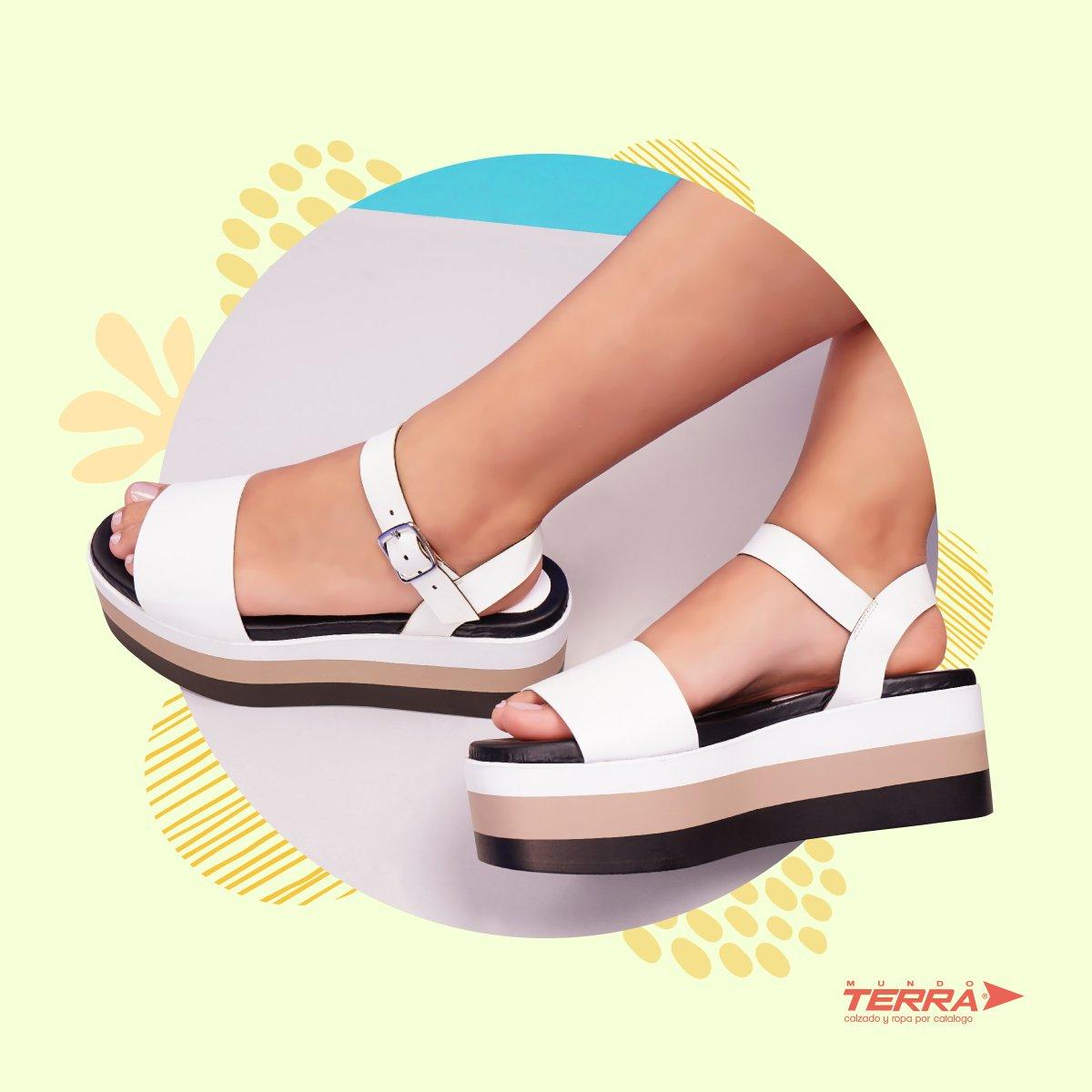 Es momento de optar por zapatos abiertos, una opción fresca que suman comodidad y frescura a nuestros pasos. ¡Dale la bienvenida a Marzo!  #mundoterra #elmundoesdenosotras #shoes #loveshoes https://t.co/EezjBBZ8tC