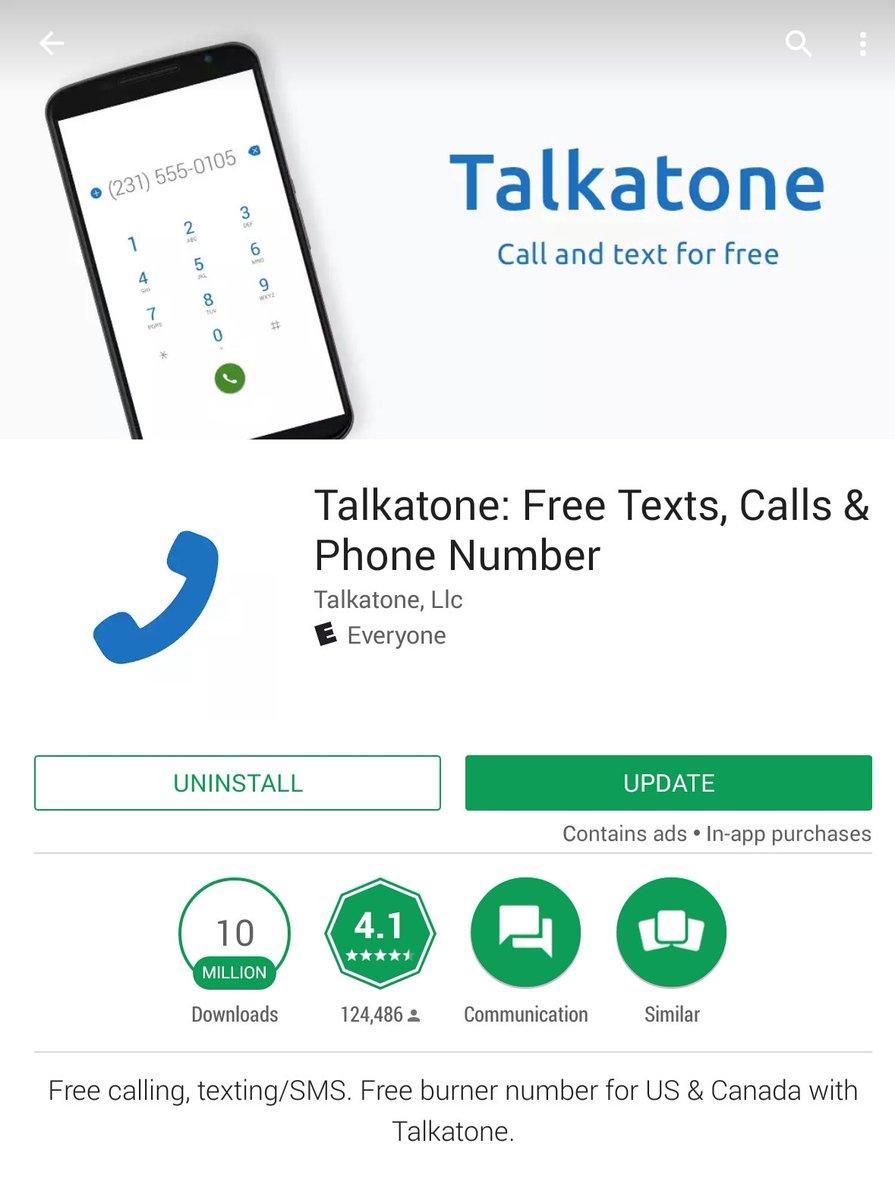 Talkatone (@Talkatone) | Twitter